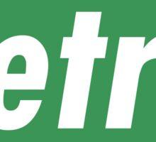 Retro - Green Sticker