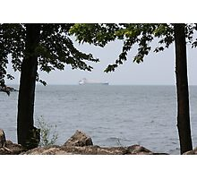 Lake Freighter Photographic Print
