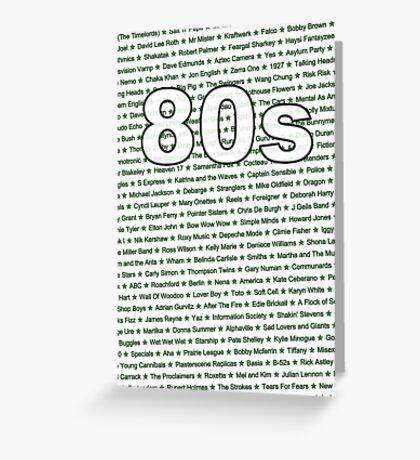 80s Greeting Card