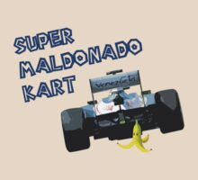Super Maldonado Kart - Blue Writing by Tommy Bee