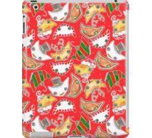 """Oro?"" Christmas Series Red iPad Case/Skin"