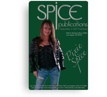 Spice Publications - Pixie Spice Poster 2 Canvas Print