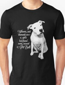 Girls Best Friend Rescued Pit Bull T-Shirt