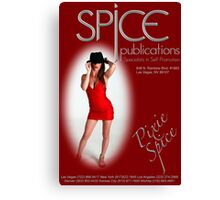 Spice Publications - Pixie Spice Poster 3 Canvas Print