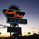 Sunset Strip by Greg Belfrage