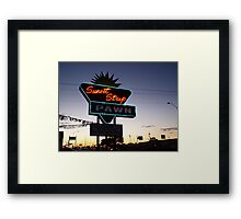 Sunset Strip Framed Print