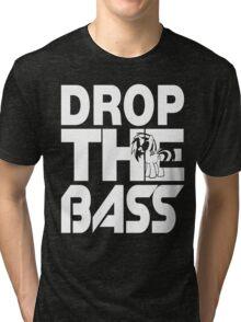 Bass Droppin' PON3 - Inverted Tri-blend T-Shirt