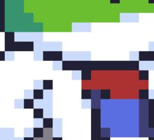 Pixel Slippy Sticker