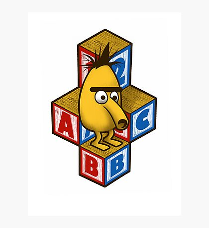ABC-Bert Photographic Print