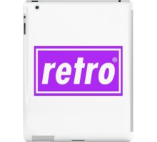 Retro - Purple iPad Case/Skin