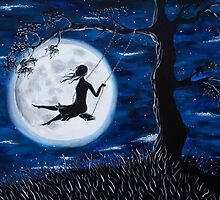 Moonlit Swing by Aradia