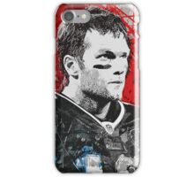 Tom Brady Red White and Blue iPhone Case/Skin