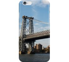 Williamsburg Bridge, NYC iPhone Case/Skin