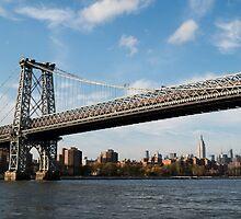 Williamsburg Bridge, NYC by LizzyWake