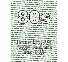 80s - Dance like it's Ferris Bueller's Day Off Photographic Print