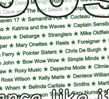 80s - Dance like it's Ferris Bueller's Day Off Sticker