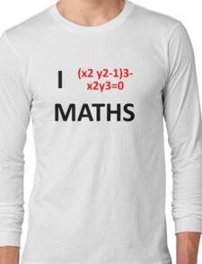 I Heart Maths  Long Sleeve T-Shirt
