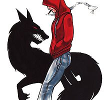 Red Riding Hoody by Erika Harm