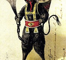 Krampus with a full sack by chesters