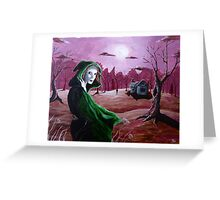 The Manner of Witches Greeting Card