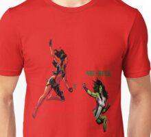She-Hulk Versus Unisex T-Shirt