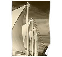 Unfurled Sails Poster