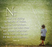 "Matthew 4:18 -""Fishermen"" by vigor"