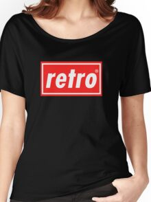 Retro - Red Women's Relaxed Fit T-Shirt