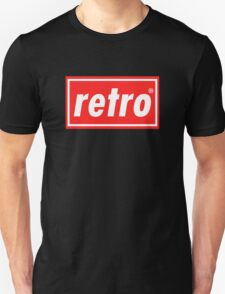 Retro - Red Unisex T-Shirt
