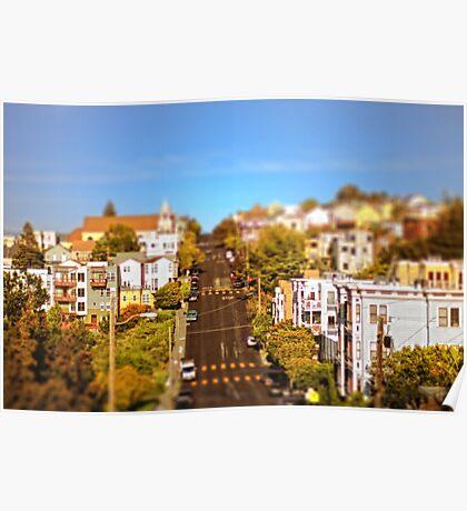 Little Street, Big City Poster