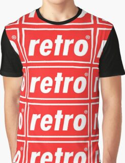 Retro - Red Graphic T-Shirt