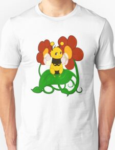 Cute bee with flowers T-Shirt