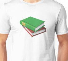 Stacked Books Unisex T-Shirt