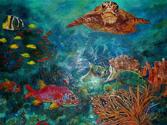 Beneath the Sea by LJonesGalleries