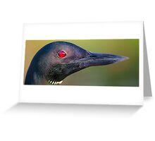 Loon Portrait Greeting Card