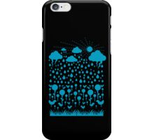 Blu Rain iPhone Case/Skin