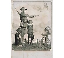 1778 1783 America owes France the most unalterable gratitude 1917  French comrade your children shall be as our children American Ouvroir Funds 1 Photographic Print