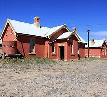 Michelago Train Station  disused by Kym Bradley