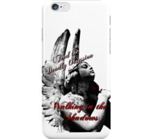 Walking in the Shadows iPhone Cover iPhone Case/Skin