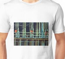 Triplets on the Scaffold Unisex T-Shirt