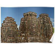 Gates of Angkor Thom Poster