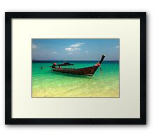 Tropical Transport  Framed Print