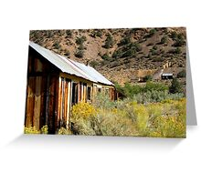 Mine On The Hill Greeting Card