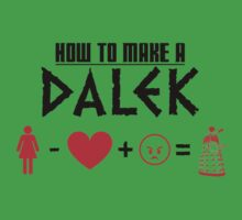 How to Make a Dalek Kids Clothes