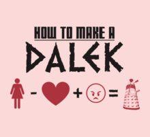 How to Make a Dalek Kids Tee