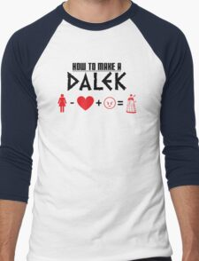 How to Make a Dalek Men's Baseball ¾ T-Shirt