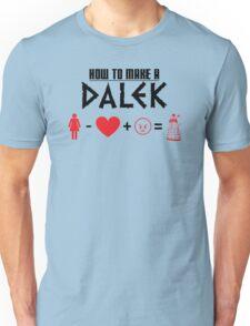 How to Make a Dalek Unisex T-Shirt
