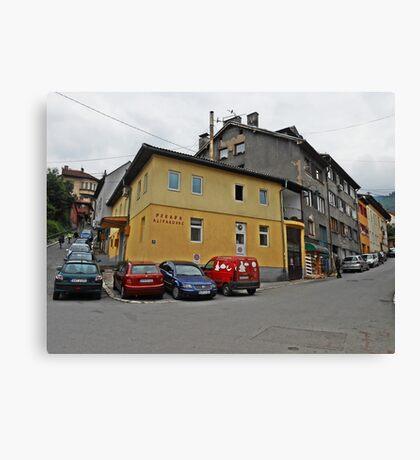 Pekara,Sarajevo Canvas Print