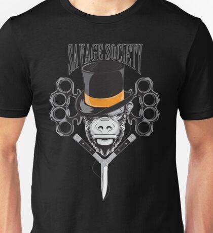Savage Society: Monocle Monkey Unisex T-Shirt