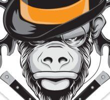 Savage Society: Monocle Monkey Sticker
